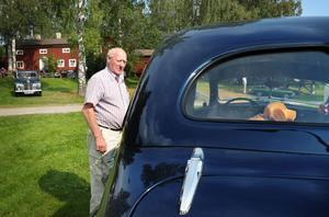 John Nordgren från Norrala körde Hälsingesvängen för 27: e året.