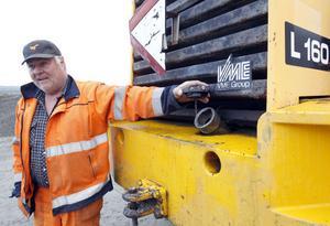 Mats Norberg har fått sin lastmaskin slangad på diesel minst tio gånger på kort tid.