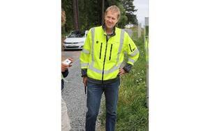 – Det här är ett nordiskt samarbetsprojekt, säger Per Melén på Trafikverket. Foto: Mats Rönnblad