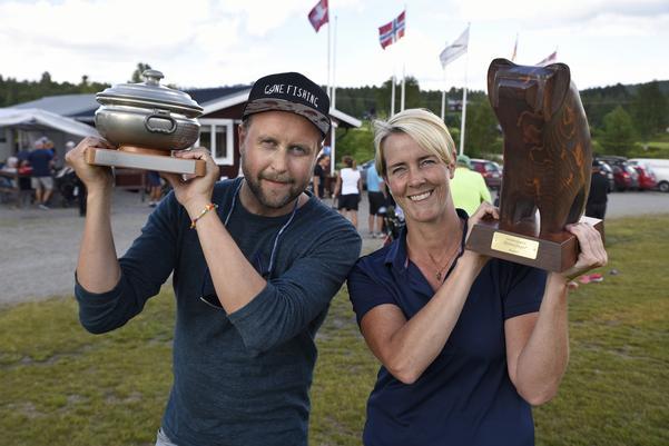Fredrik Karlin från Hede-Vemdalens golfklubb tog hem vinsten med 67 slag netto i Björnslaget, klubbens äldsta och kanske mest prestigefyllda tävling under tisdagen 25 juli. I damklassen vann Karin Sandbrink, också Hede-Vemdalens golfklubb, på 68 slag netto.