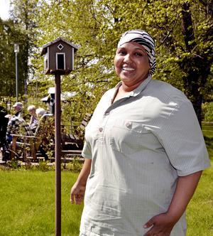 Sado Muse gör praktik på Skottsundsbackens äldreboende som tilldelas 2015 års utmärkelse för mångfald i arbetslivet.
