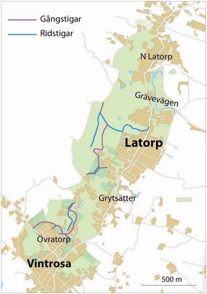 Vinteråsen, ett nytt naturreservat vid Vintrosa och Latorp.