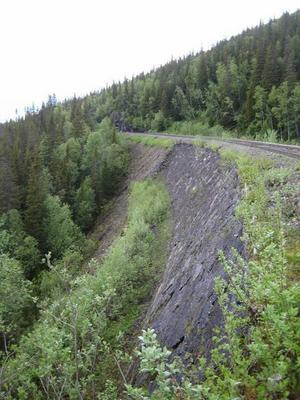 Banvallen i Stora Helvetet finns med på Trafikverkets lista över aktuella investeringar på prioriterade platser i länet som behöver göras.