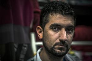– Ingen har ätit frukosten i dag, berättade Hozan Ghanim.