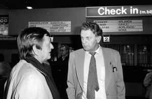 Politikerna Olof Palme (S) och Thorbjörn Fälldin (C) var stenhårda kombatanter på 1970 och 1980-talet och debatterade ofta inför fulla hus.