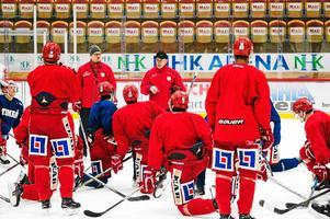 Fredrik Andersson och Johan Thelin har en plan för hur Timrå ska ersätta Jacob Olofsson under tiden han är borta.