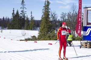 Mattias Widmark, Svegs IK, kom i mål som sjunde herre.