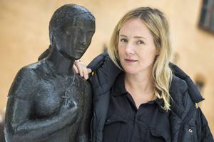 Lina Thomsgård, aktuell som redaktör för boken