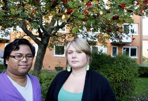 Magnus Svensson och Ulrika Dienstbier, aktiva i RFSL Gävleborg, tycker att det är bra att hälsan bland hbt-personer blir uppmärksammad.– Det är ett folkhälsoproblem att många människor går runt och mår dåligt, säger hon.