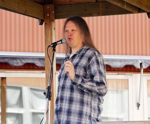 Robert Eriksson höll årets tal.