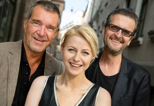 Kjell Bergqvist, Edda Magnason och regissören Per Fly har levt med