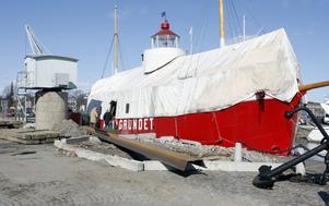 Almagrundet ligger i dag i Västerås och har renoverats av ägaren Knuth Borg. Projektgruppen Fyrskeppet Almagrundets Vänner vill nu att skeppet ska återföras till Gävle.