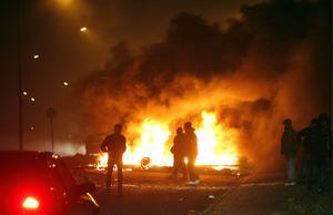 I december 2008 bröt stora kravaller ut i Malmö och hundratals bilar brändes.