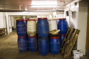 Tunnorna användes till surströmmingstillverkningen.