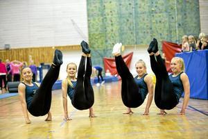 EM-medaljörer 2014. Örebro har gott om duktiga gymnaster. Men de är hemlösa och behöver ett eget hus, anser gymnastikföreningarna. Arkivfoto: Lennart Lundkvist