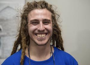 Henrik Harlaut, 23 år, är en spjutspets från Åre i en freeskivärld som oftast har nordamerikansk dominans.