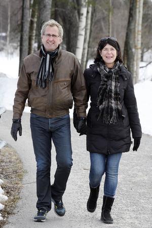 Erik och Agneta.