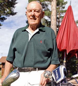 Yngve Ottosson har deltagit i golfveckan alltsedan starten 1962.