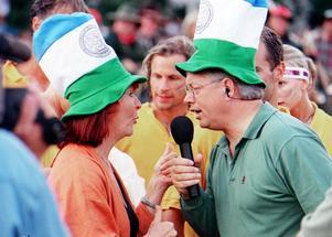 Kim Anderzon och Staffan Ling i Stadskampen.