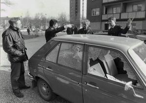 Kpistmannens framfart kan bli dyrbar för de bilägare som bara har sina bilar trafiksäkrade.
