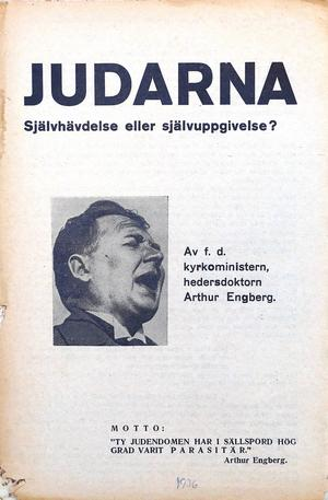 En stridsskift ur Walles samlingar. I sig artikel i Sverige-Kuriren 1989 medger Walles faktiskt att den