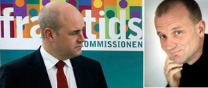 Statsminister Fredrik Reinfeldt leder framtidskommissionen och ska ha minst tio möten med Pekka Mellergård och de andra medlemmarna.