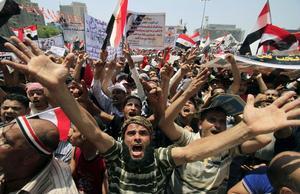 Folket ville få bort diktatorn och själva få rätt att skapa en ny framtid.