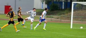 André Eliasson kunde lobba in 1–0 för Iggesund efter 23 minuters spel.