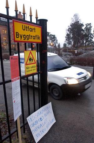 Det är fem år sedan, men det politiska efterspelet efter Byggnads blockad av skolbygget  i Vaxholm pågår fortfarande.Foto: scanpix