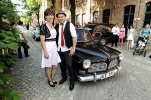 Så här såg det ut när Camilla och Niklas Bäckström gifte sig 2009.