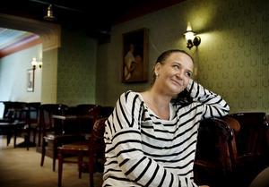 """Stamgäst. Nathalie Gustavsson har fikat """"hundra gånger""""."""