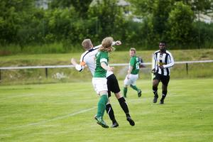 Nickduell mellan Fredrik Eriksson och Marcus Olsson.