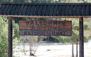 Åstöns naturreservat bildades av Timrå kommun år 2000 för att naturen i området skulle få utvecklas fritt.