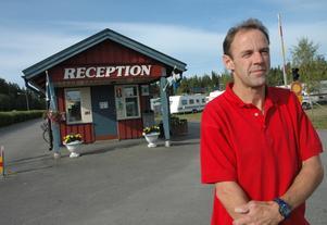 Tore Torstensson säger att också att under augusti månad är campingen fullbokad.