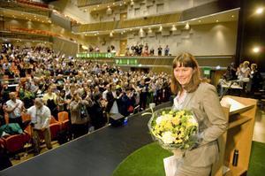 Åsa Romson, med rötterna i Östnor, valdes som språkrör för Miljöpartiet i helgen.