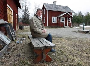 I den här miljön ska äldre och demenssjuka få hjälp att minnas. Jamtlichefen Henrik Zipsane är en av initiativtagarna till projektet.Foto: Jan Andersson