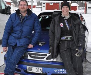 Johan Garli och Magnus Proos höll bra fart och blev snabbaste länsekipage.