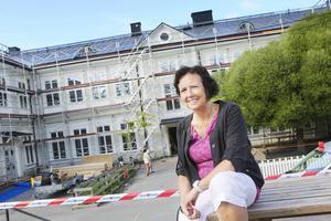 Lena Medin är nytillträdd rektor på Norra skolan. Hon ser fram emot läsåret och tycker det är roligt att kommunen satsar på skolan.