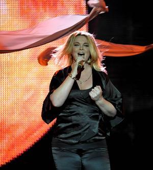 Britta Bergström från Gävle har körat för stora delar av den svenska artisteliten.