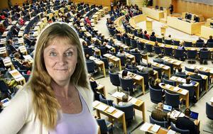 STOCKHOLM 20140507Plenisalen i Riksdagshuset inför debatten om valet till Europaparlamentet.Foto: Pontus Lundahl / TT / kod 10050