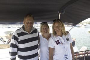 Lars Rüden, Anneli Andersson och Junette Linde ingår i styrelsen för Storebro Royal Cruisers Club.