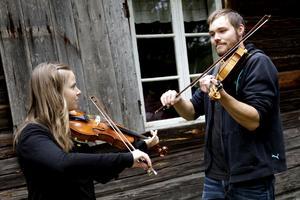 Sara Karlsson och Robert Jerfström Rotter spelade tillsammans.