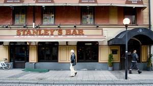 Plaza (som tidigare hette Stanleys) på Järnagatan rånades i natt.