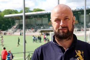 Patrik Järmens, sportchef i Tellus.