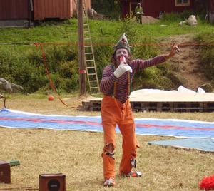 Clown. Workshops av alla möjliga slag kommer att ordnas under festivalen, bland annat kan man prova på clownkonster. Foto:Privat