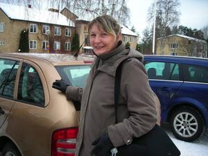 Just nu pågår utbildning för flera äldre           team i länet. Häromdagen åkte hon till Bergs kommun som står i startgroparna för att börja jobba effektivare.  Foto: Anita Näsberg