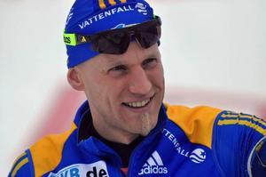 Inte en dålig tävling så här långt på säsongen för Carl Johan Bergman som ligger på fjärde plats i sammandraget. Så utstrålar han också självförtroende, entusiasm och glädje så att det skvätter om det.Foto: Hans-Råger Bergström