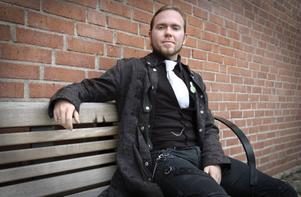 Anders Modig är ny ordförande för Grön Ungdom i Bollnäs.