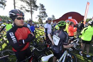 Jonas Ericsson från Täby redo för sin sjätte Siljan Runt.