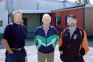 TÄNKER AVGÅ. Om det inte kommer fram nya idéer som räddar Folkets Hus i Skutskär avgår Thomas Wassén, Ivan Eriksson, Sune Nyman och resten av styrelsen 1 oktober.